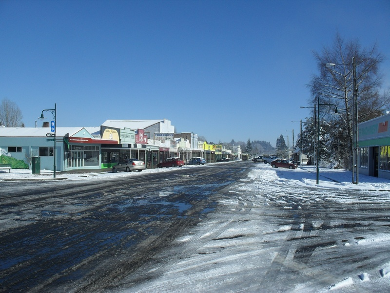 Main st looking east.